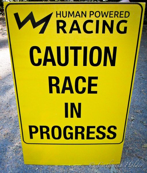 HPR Race sign