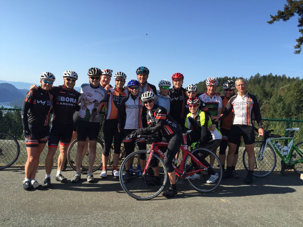 Sooke team out for a ride.