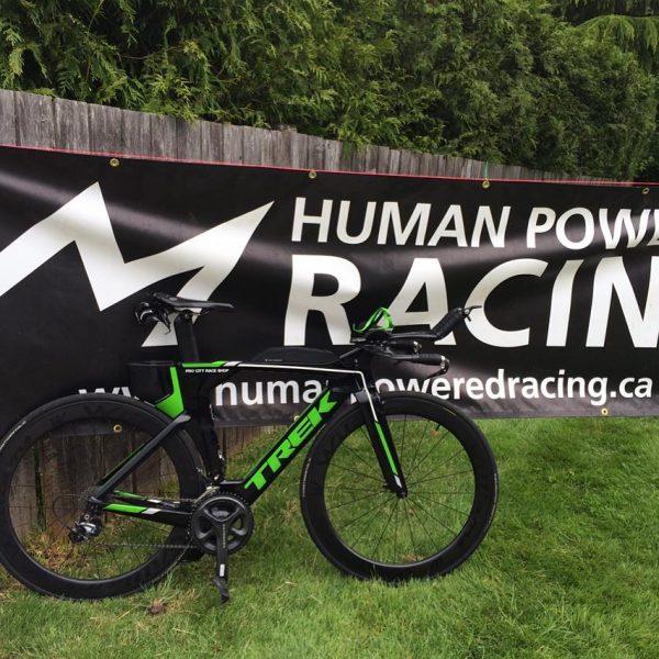 HPR Banner and Bike
