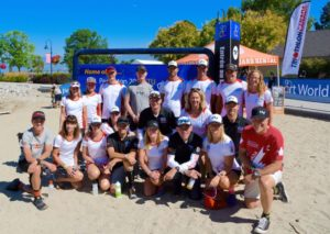 Human Powered Racing Athletes and Bermudian Athletes day before ITU Long Distance World Championship 2017 in Penticton