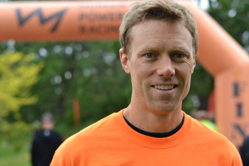 Nathan Murray smiles at the Youth Triathlon Westshore.