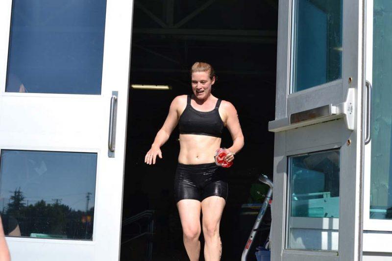 Triathlon of Compassion, Esquimalt Recreation Centre, 2018