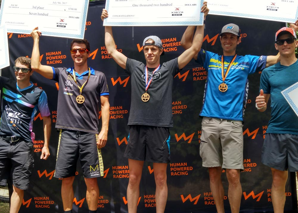 Winners of the XTERRA Victoria men's division.