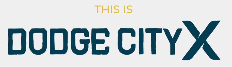 Dodge City X Tri logo