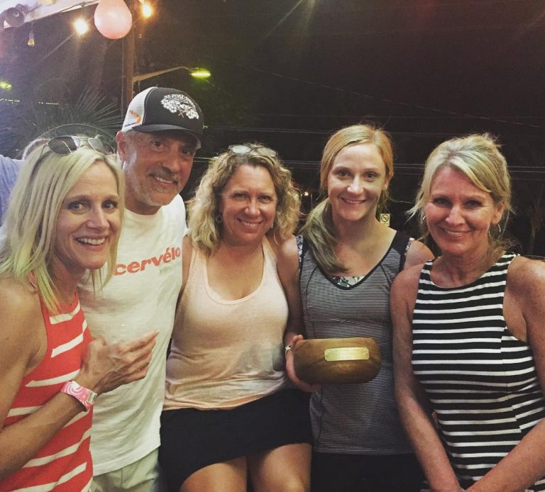 Our Champ! Celebrating Fawn in Kona