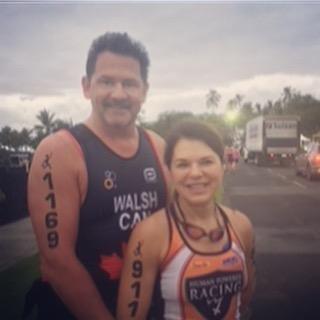 Daphne and Ed Walsh at Lavaman 2018