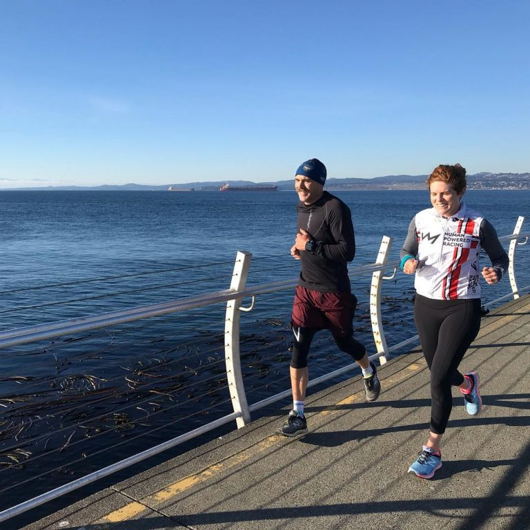 Training at Ogden Point