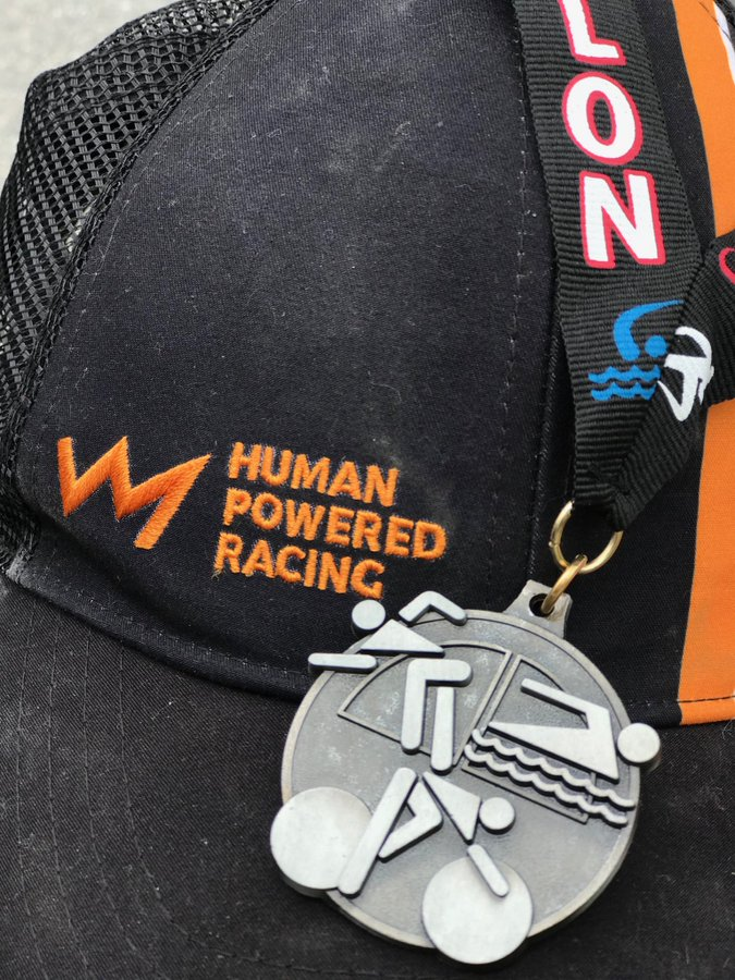 Human Powered Racing Hat and Medal