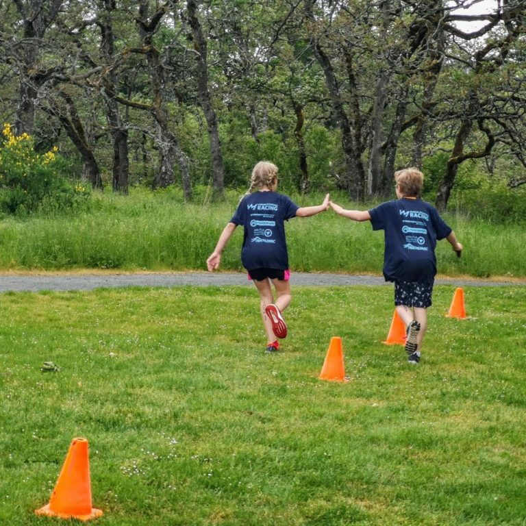 Cheering Loudly at the West Shore Youth Triathlon