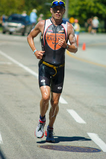 Mike Neill running at Ironman Canada 2011