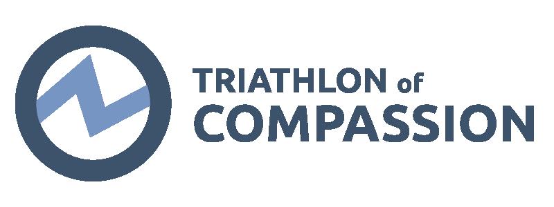 Triathlon of Compassion logo.