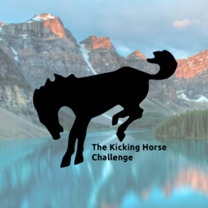 Kicking Horse image and challenge title